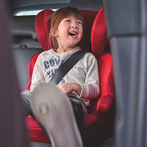 41JukfDWYPL - Diono Everett NXT Ridgid Latch, Belt Positioning Booster Seat, High Back Booster, Lightweight Slim Fit Design, 8 Years 1 Booster Seat, Blue