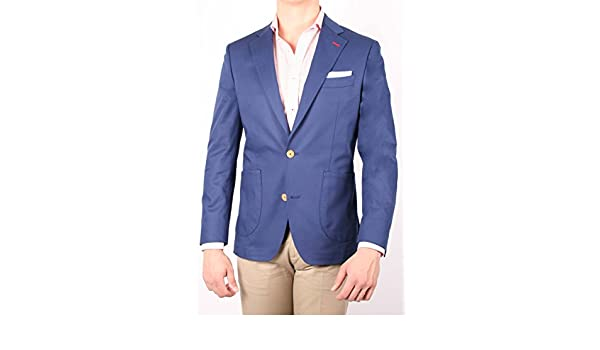 Alvaro Moreno, Americana Canvas-56, color Azul: Amazon.es: Ropa y accesorios