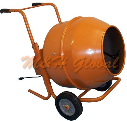 8 Cubic SHORT Cement Mixer Portable Concrete Mixing Motar Mixer by Generic