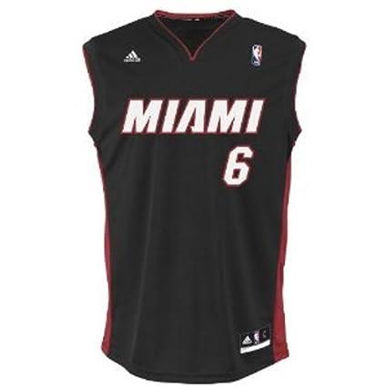 dff2a55e5c4 Buy NBA Miami Heat Black Replica Jersey LeBron James  6