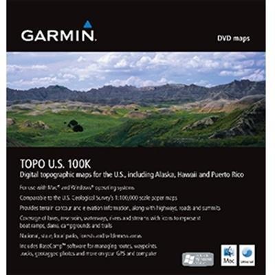 Garmin TOPO US 100K DVD GPS Accessories