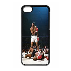 DDOUGS Muhammad Ali Customized Cell Phone Case for Iphone 5C, Personalised Muhammad Ali Case
