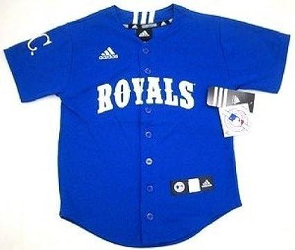 04c23bd8228 Amazon.com : adidas MLB Kansas City Royals Youth Jersey : Sports Fan ...