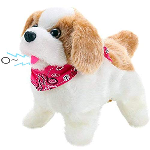 Animated Girl Walking (Liberty Imports Cute Little Puppy - Flip Over Dog, Somersaults, Walks, Sits,)