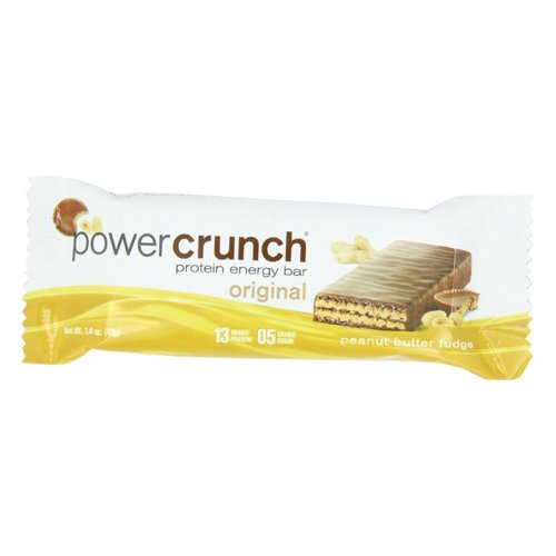 Power Crunch Bar, Peanut Butter Fudge, 1.4 Ounce, 24 (Bio Protein Bar Peanut Butter)