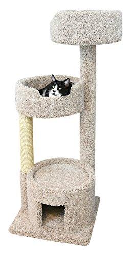 New Cat Condos Premier Cat Perch, Beige