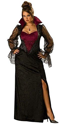 Midnight Vampiress Adult Costume - Plus Size 3X]()