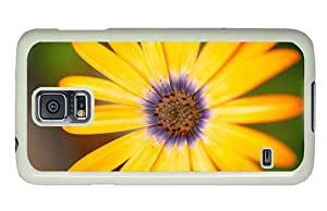 Hipster Samsung Galaxy S5 Case online covers yellow flower 1 PC White for Samsung S5
