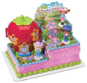 Strawberry Shortcake Sweet Celebration Cake Topper Set