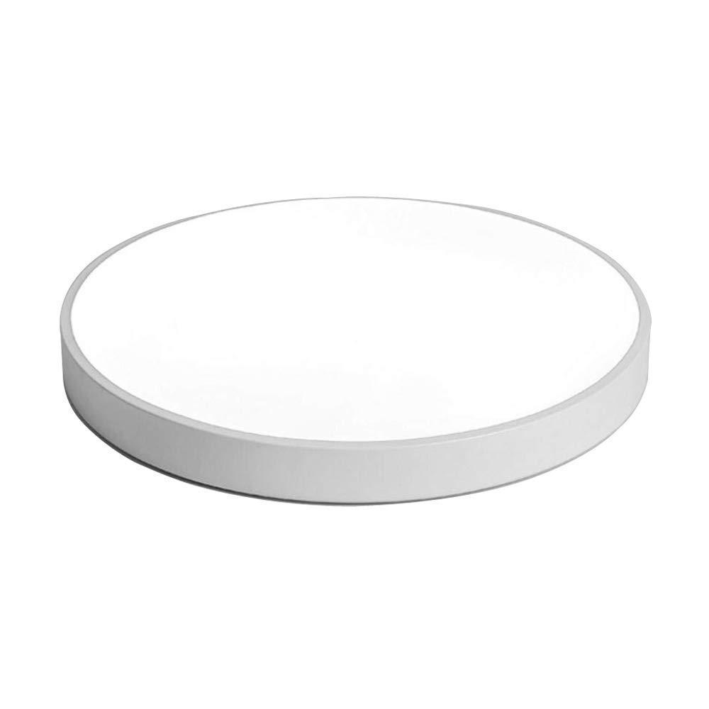 27W LED Rund Deckenleuchte Dimmbar mit Fernbedienung Deckenleuchte Modern Acryl Lampe Leuchte Ultra dünne Deckenstrahler für Wohnzimmer Schlafzimmer Restaurant Esszimmer. Weiß Ø40cm,3000-6000K