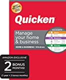 Quicken Home & Business 2020- Track Personal and Business Transactions [Amazon Exclusive] [PC Disc]