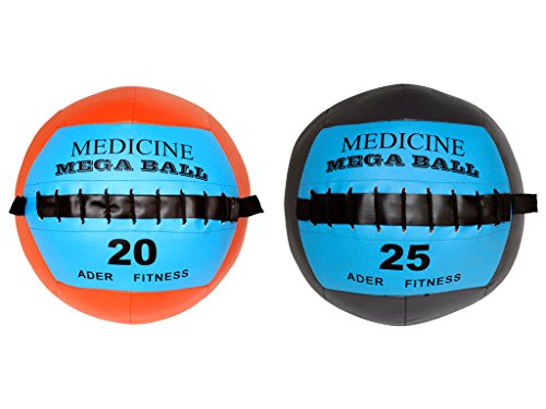 Mega Soft Medicine Ball Set- 20 Lb & 25 Lb