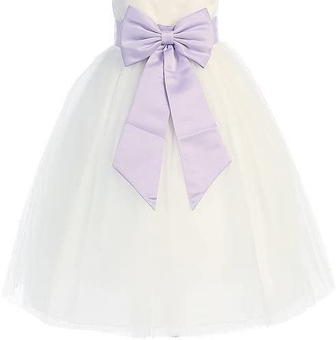 Satin Preformed Adjustable Colors Infant