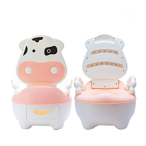 Children's Cow Toilet Seat   Baby Toddler Trainer Potty Toilet Seat for children 1-5 years old - Ship From US! (Potty Training Throne)