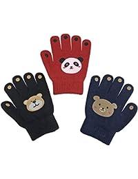 Boys Magic Stretch Gloves 3 Pair Pack Assortment
