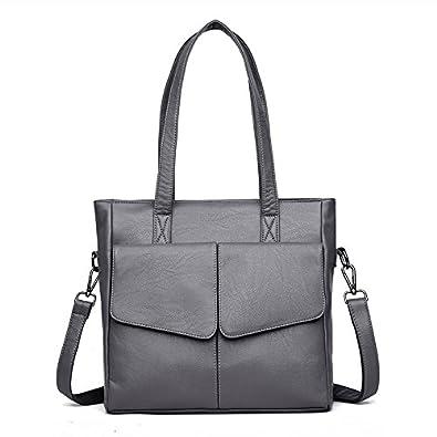 dafc86f10de7 Amazon.com: New PU Soft Leather Shoulder Crossbody Bag Mother ...