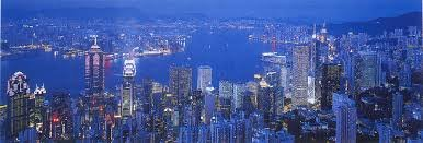 HONG KONG BY NIGHT PUZZLE - GLOW IN THE DARK -  TOMAX, 95-051