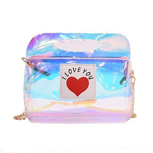 Glitter coloured Bag Shoulder Leather Handbags Multi Women Messenger wI0q0gPz