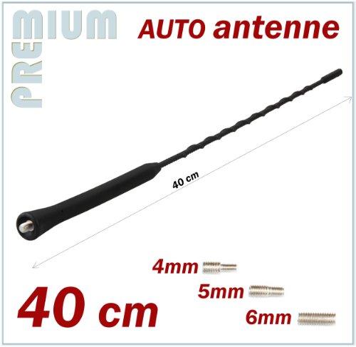 Kfz Antennenstab Universal 40cm Stab Auto Antenne Mit M4 M5 M6