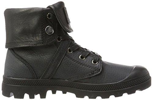 Palladium Plbrs BGY L2 U, Sneaker a Collo Alto Unisex-Adulto nero