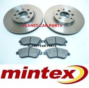 VAUXHALL CORSA  2000-/> MINTEX FRONT BRAKE DISCS /& PADS