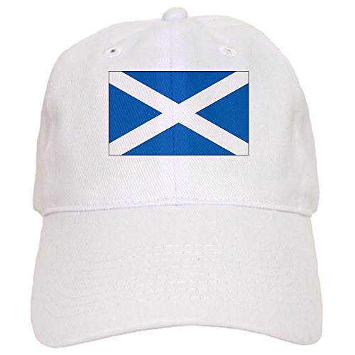 - CafePress - Scotland Flag Cap - Baseball Cap with Adjustable Closure, Unique Printed Baseball Hat