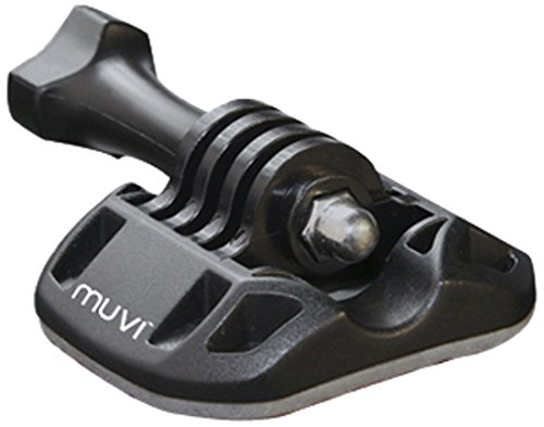 Veho Muvi Mounting Brack Kit with 3M Base for Muvi KX-Series | Muvi K-Series | Muvi HD | Muvi Micro - Black (VCC-A041-MBK)