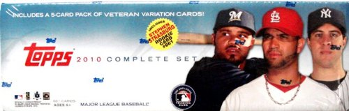 MLB 2010 Topps MLB Factory Set - Retail (661 cards)