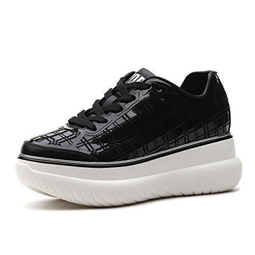 zapatos ocio Calzado de primavera planos Señora y verano zapatos deportivo A Joker blanco 8qInP1w