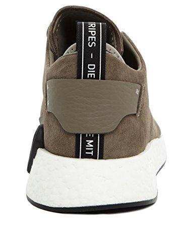 adidas Mens NMD C2 Nubuck Trainers Various Colours (Marsim / Marsim / Negbas) 0JTHTi7O