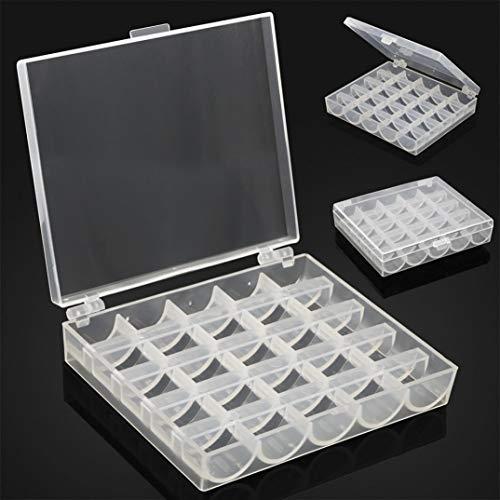 (Hot Sale!DEESEE(TM)25-thread sewing bobbin storage box sewing bobbin storage box)