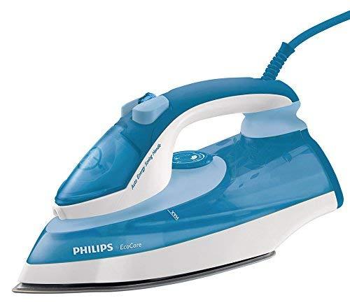 (Certified REFURBISHED) Philips Ecocare GC3721/02 2200-Watt Steam Iron (Blue/White)