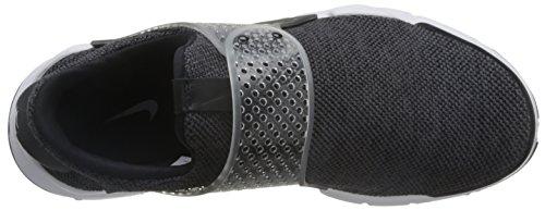 Nike Herren Sock Dart SE Premium Laufschuh Dunkelgrau / Weiß-Schwarz