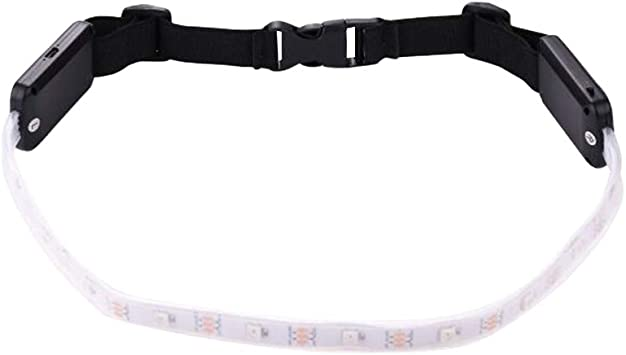 LIOOBO LED Corriendo la Cintura Cinturón de Control Remoto Noche de Seguridad USB Recargable SOS para Parejas Montando Correr 80-68cm 2 unids: Amazon.es: Deportes y ...