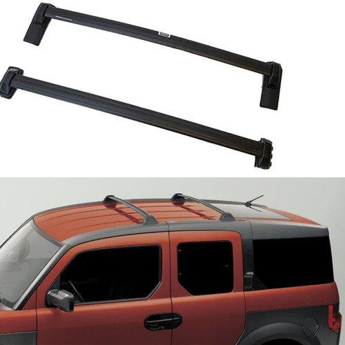 Honda Element Roof Rack - ANTS PART Roof Rack Cross Bars for 2003-2011 Honda Element Black Luggage Carrier Roof rails OE Style