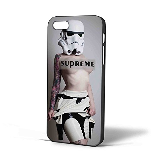 Stormtrooper Star Wars sexy girl for iPhone Case (iPhone 6s plus Black) (Storm Trooper Sexy)