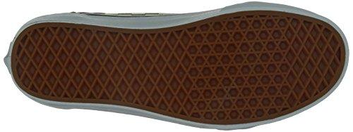 Vans U Old Skool - Zapatillas de Deporte de canvas Unisex cvrt green check