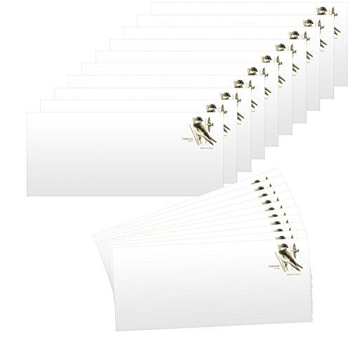 (20 Forever Stamps Stamped Envelopes - #10 Envelopes (4-1/8 x 9-1/2 Inch) Stamp Design May Vary)