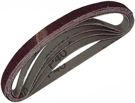 5er Pckg Silverline ~ abrasives 13 x 457 mm 80er Grain 740136