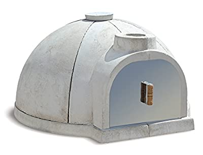 "Cuore Ovens Model 1000 Gourmet Wood-Fired Oven Kit - 37.4"" internal fire chamber diameter."