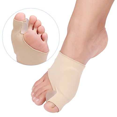 comenzar Bunion Corrector,Adjustable Velcro Bunion Splint Protector Sleeves Kit, Toe Straightener for Hallux Valgus,Tailors Bunion, Hammer Toe Pain Relief, Night Time Support for Men/Women