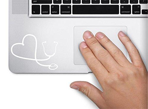 Stethoscope Symbol Macbook Trackpad Sticker product image