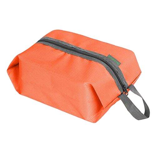 Tragbare Schuhbeutel-Schuh-Halter-Organisator-Tote-Beutel-Kasten-Aufbewahrungsbeutel, Orange