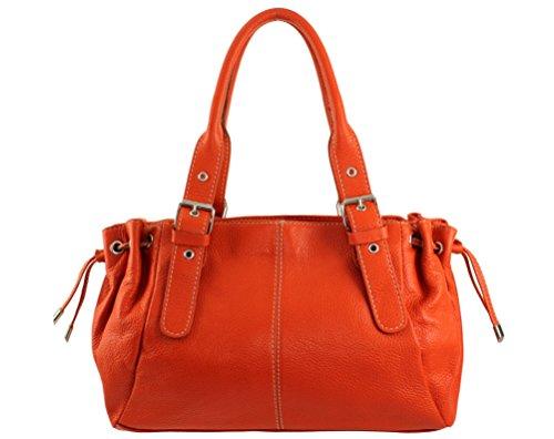 main Maria a main sac a Coloris Clair maria italie main sac à cuir main a cuir main sac femme cuir maria Orange Sac sac a sac Plusieurs sac Afxatqfw