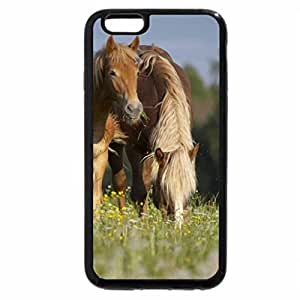 iPhone 6S / iPhone 6 Case (Black) Having Lunch in the field