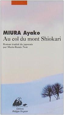 Au col du mont Shiokari par Miura