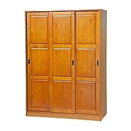 56700 3-Sliding Door Wardrobe