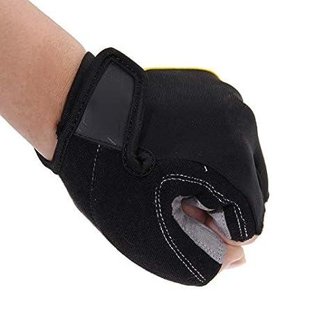 Amazon.com : Biking Gloves Men - Mens Cycling Gloves - Cycling Gloves Half Finger Mens Gel Shockproof Breathable Motocross Bike Bicycle Gloves -1Pair - L ...