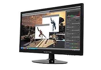 """Sceptre 1600x900 Hdmi Dvi Vga Led Hd Monitor - E205w-16008a 20"""" True Black (2017) 4"""