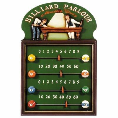 - RAM Gameroom Products Pub Sign Scoreboard, Billiard Parlour